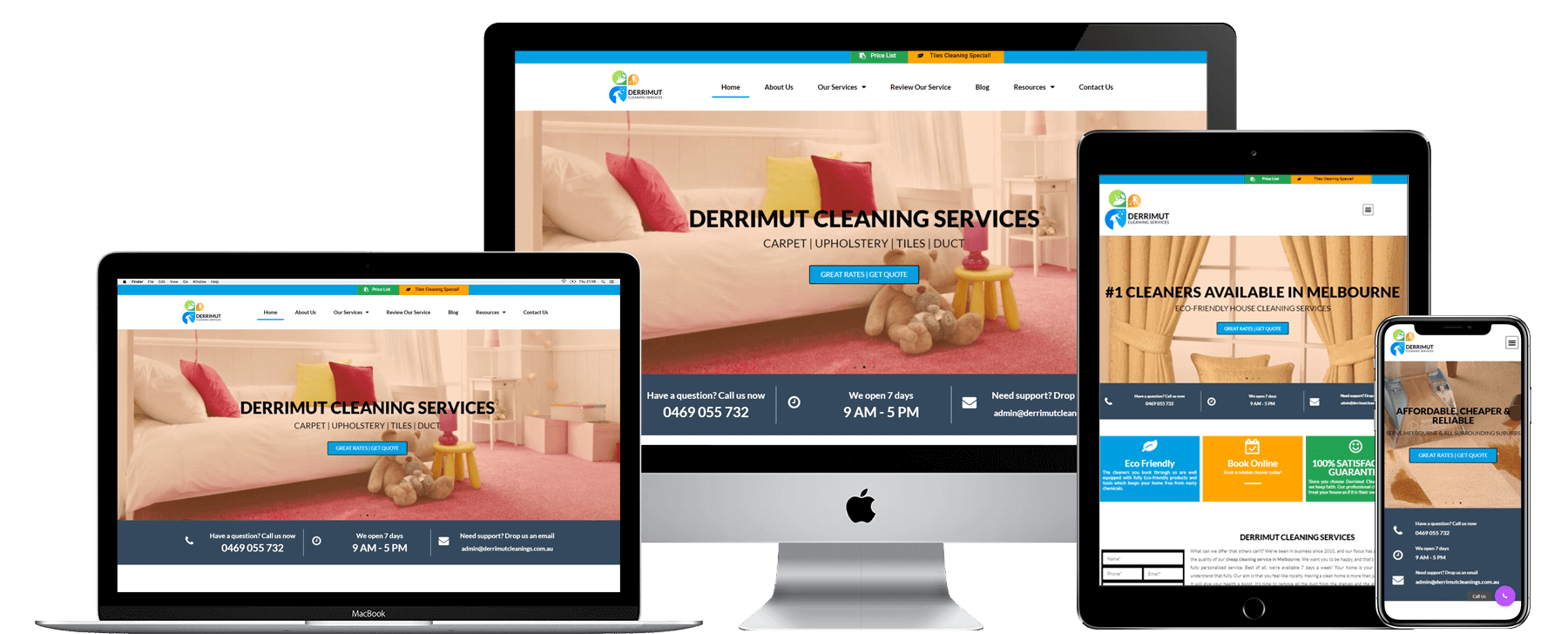 Portfolio (ALL) Derrimut Cleaning Services